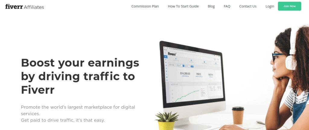 Best Affiliate Platform - Fiverr