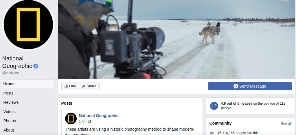 National Geographic Media Brand