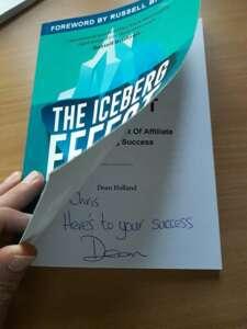 The Iceberg Effect Dedicace